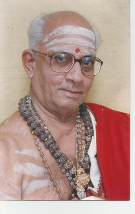GURUJI of THIRUPPUGAZH ANBARGALS